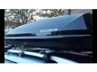 Roof box (360l) hire rent only