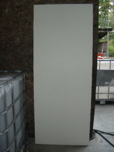 Interior door slab
