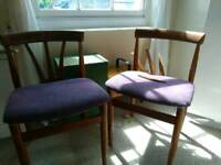 Four x free chairs
