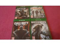 Xboxone games 4 for £30