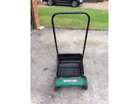 Qualcast lawnmower for sale as new condition