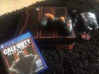 PlayStation 4 console black ops III