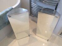 2 Bathroom Cabinets