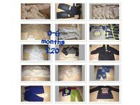 Boys 0-6 month bundle