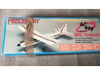 RC model plane kit, with engine