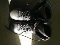 Military style walking boots size 11