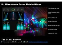 DJ and Mobile Disco Essex from £175.00 - £275.00 according to time and Location