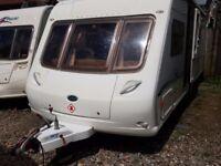 2005 Bessacarr Cameo 625 Twin Axle Fixed Bed End Washroom Caravan