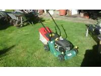 mower in good condition
