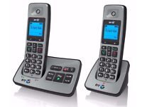 BT 2500 TWIN DIGITAL CORDLESS PHONE + ANSWER MACHINE: Read condition
