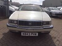 1990 CADILLAC ELDARADO AMERICAN CLASSIC CAR LOVELY CAR AND SUPERB DRIVE RELUCTANT SALE CHEAP BARGAIN