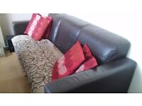sofa - FREE to collector !!!sturdy sofa just needs a cover/throwover