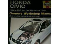 Honda Civic (x -55 reg) manual