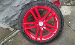 5×115 19inch Cadillac rims with tires