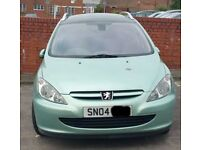 Peugeot 307 1.6 Bonnet Breaking For Parts (2004)