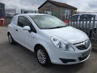 VAUXHALL CORSA 1.3 CDTI 16 V VAN ONLY 63000 MILES 1 OWNER MINT CONDITION FULL SERVICE HISTORY