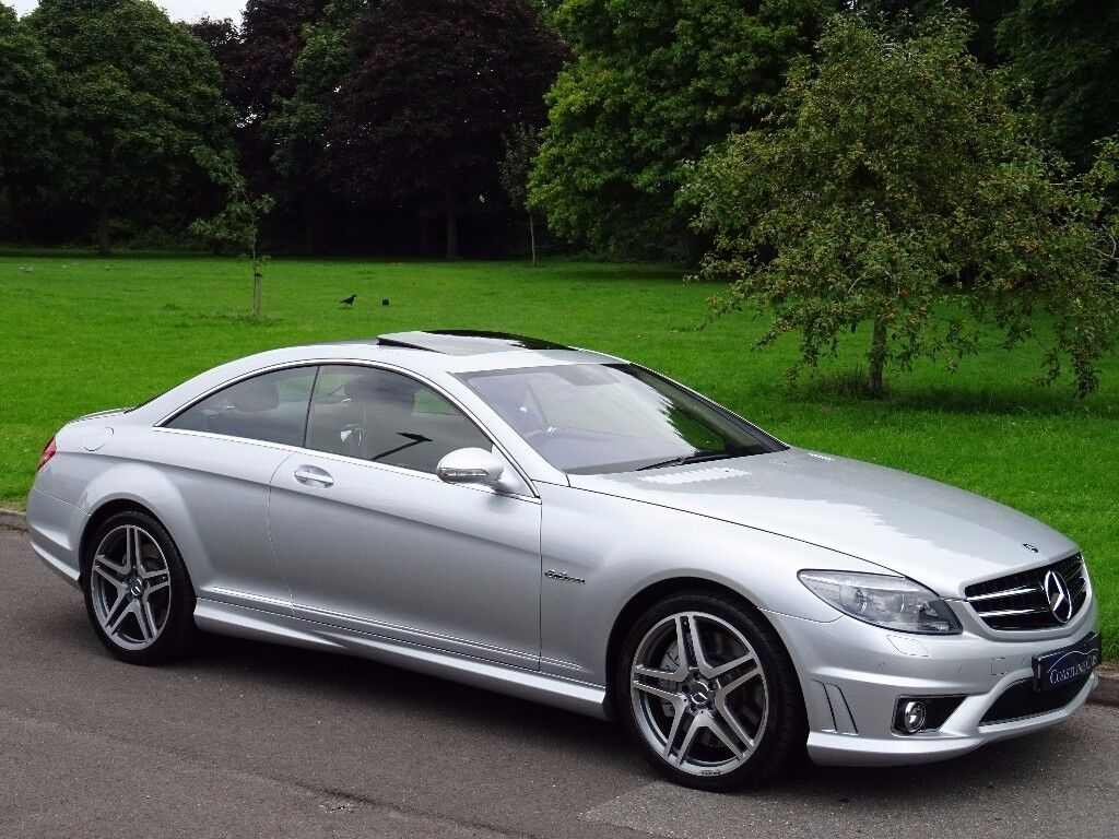 2007 Mercedes Benz Cl 6 2 Cl63 Amg 7g Tronic 2dr Only