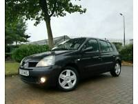 2004 RENAULT CLIO 1.5 DCI DYNAMIQUE 65 5DR *3 OWNERS LOW MILEAGE IMMACULATE* corsa fiesta peugeot