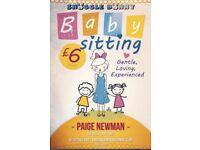 Snugglebunny babysitting service 🐰👶🏼
