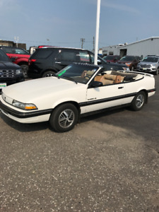 1990 Pontiac Sunbird LE Convertible One Owner