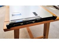 Dell PowerEdge R330 Server 1U / Xeon E3-1220 v5 / 32GB DDR4 ECC RAM / 2x 200GB SSD