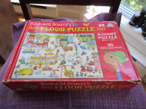 Richard Scarry's Best Floor Puzzle Ever   Great for Daycares