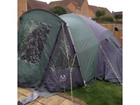Suuncamp six man tent very good condition