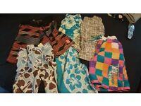 Bundle of boys swimming shorts