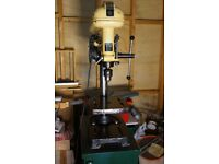FOBCO Star Half Inch, four speed Drill Press on Stand with Cupboard and Drawers