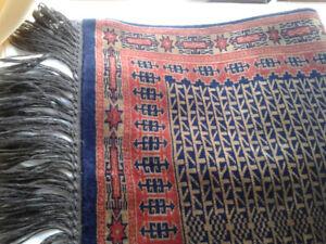 Tapis de laine neuf indien  3 pi x 5 pi