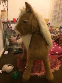 FurReal butterscotch Pony 3ft tall £75 ono