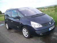 Renault Espace 3.0DCI Initiale 5 speed Automatic 2004 (Private plate included)