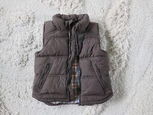 Boys Brown Vest