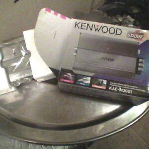 Kenwood maxpower 600w amplifier