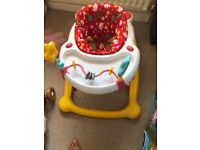 Baby walker £10 in good condition