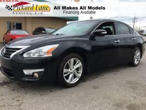 2014 Nissan Altima $122.38 BI WEEKLY! $0 DOWN! FACTORY NAVIGATIO