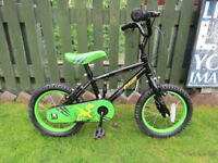 "GREAT BOYS 14"";BIKE..APOLLO CLAWS..GREAT CONDITION..ALL FULLY WORKING..READY TO RIDE AWAY TODAY."