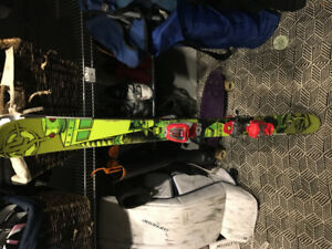 K2 twin tip skis