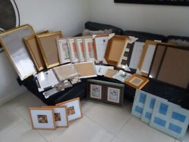 Picture frames Variety (30)