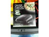 George Foreman Grill (New, unused)