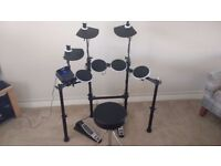 Alesis DM Lite Electronic Drum Kit with Sticks and Stool
