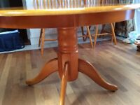 Dining Table & 4 Chairs