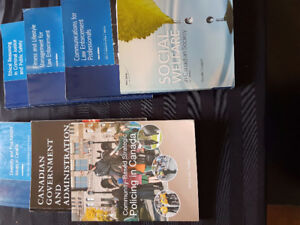 St. Lawrence College 1st Year Police Foundations Text Books