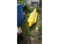 Banana boat. Obrien 5 seat professional quality.