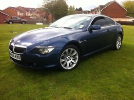 BMW 645CI BLUE COUPE PANORAMIC ROOF, LONG MOT (6 SERIES 645, 630 ci, 635d, 745)