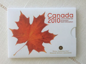 CANADA 2010 UNCIRCULATED RCM SET WITH RARE MAGNETIC PENNY