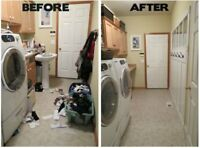 regular Cleaning , Moving ,Spiring and Cleaning after renevation
