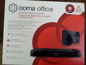 Ooma Wireless Office/Business Class VOIP Free Calling system