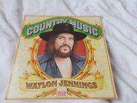 Vinyl LP Country Music – Waylon Jennings Time Life Records RCA Recording 1981