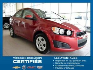 2014 CHEVROLET BERLINE SONIC LS